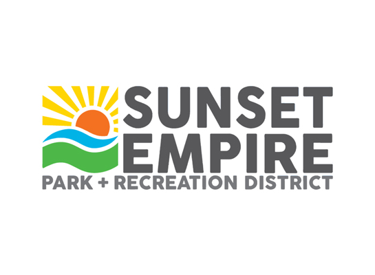 Sunset Empire Park and Rec logo