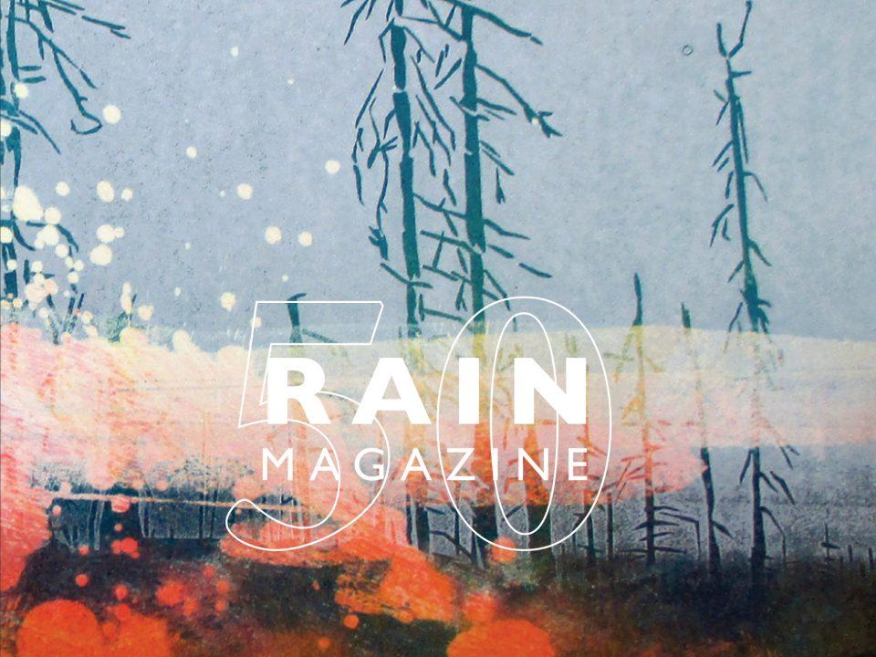 Cover of 2019 Rain Magazine