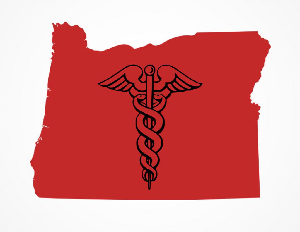 symbol of healthcare in Oregon