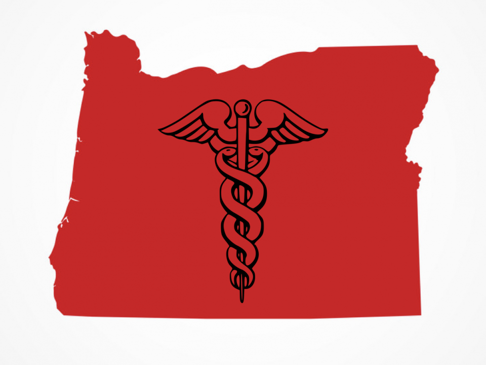 symbol of healthcare in Oregon