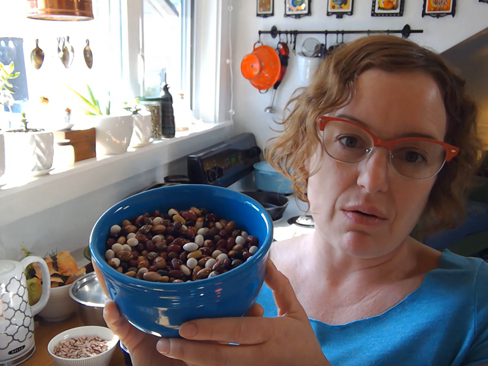 Pre-College TRIO how to cook dry beans video