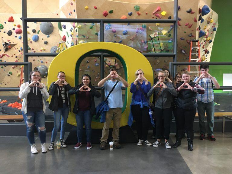 Pre-College TRIO campus visit to University of Oregon