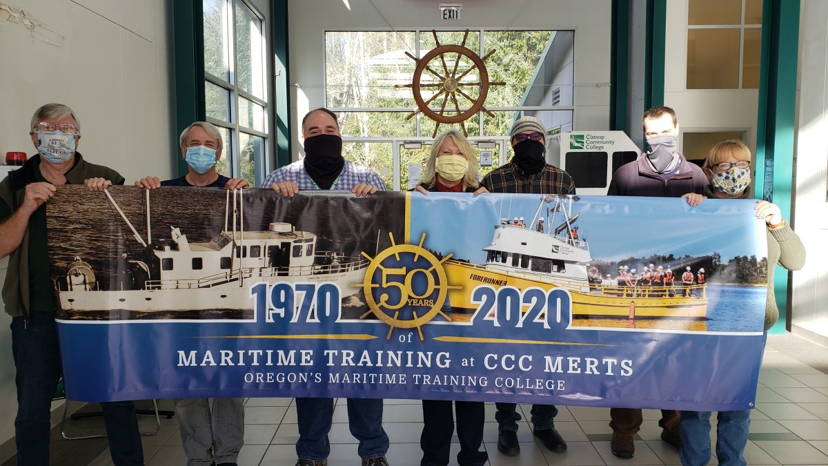 CCC Maritime Science faculty and staff gather to celebrate 50 years of the unique program