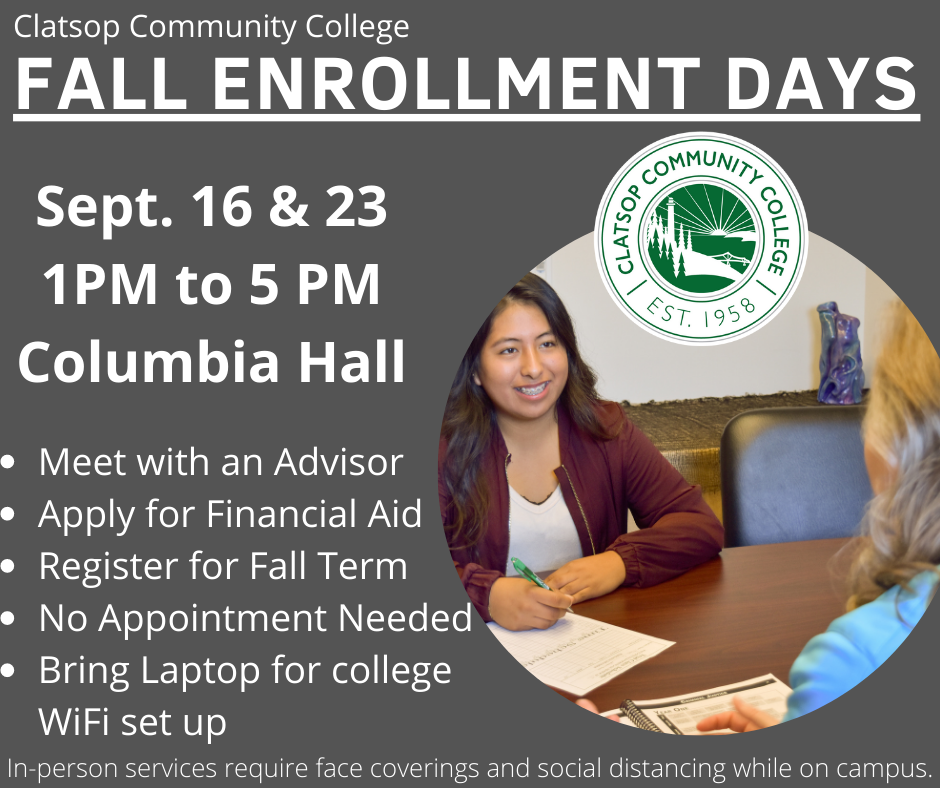 Fall Enrollment Day information