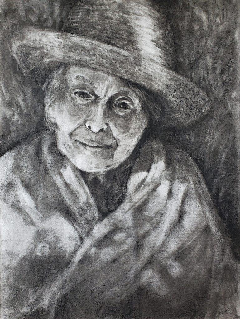 Portrait of Pamela by Kristin Shauck