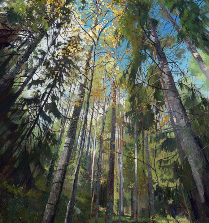 Art piece titled Soderstuvagen by Chris Sheridan